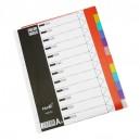 Index A4 PVC 12 Colors